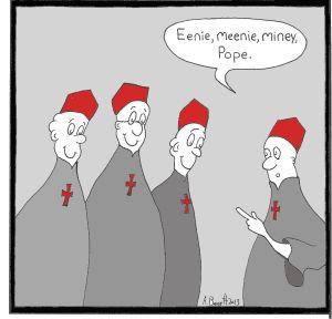 cartoon pope color